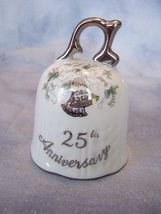 25th Anniversary Lefton Bell - $6.99