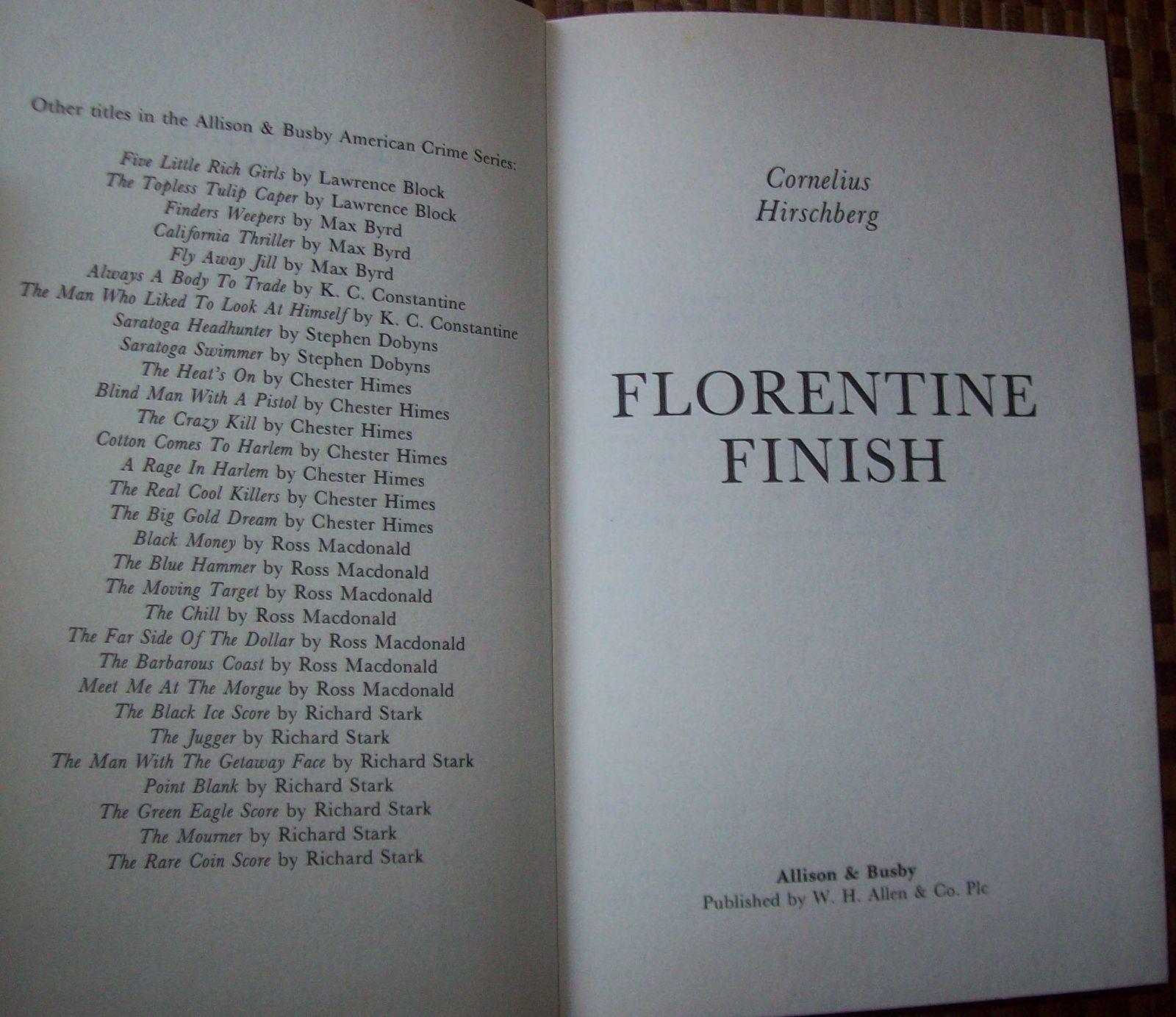 Florentine Finish by Cornelius Hirschberg 1988 HBDJ Diamonds