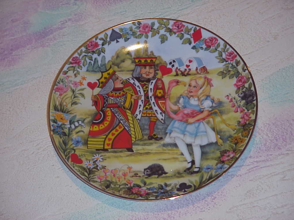 Alice in Wonderland,Collector Plates ,6 plate set,1980/1981