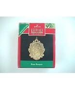 Hallmark  Keepsake Miniature -Brass Bouquet- Mini Ornament -QXM5776 -1990 - $6.99