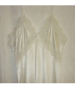 White Vintage Lace Trimmed Nightgown sz.S - $24.88