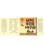 Mitchell-Gone With The Wind facsimile dust jacket for first edition book - $22.54