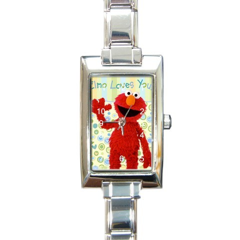 MUPPETS SESAME STREET ELMO LOVES YOU CHARM WATCH