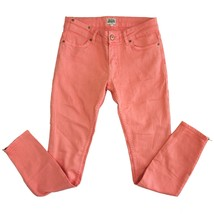 Auth Twist & Tango Pink Cropped Trousers pants w. ankle zipper size 27 - $98.01