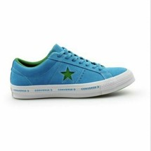 Converse One Star Suede OX Hawaiian Ocean Shoes Blue Green 159813C MSRP $80 - $49.45