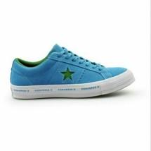 Converse One Star Suede OX Hawaiian Ocean Shoes Blue Green 159813C MSRP $80 - $54.95
