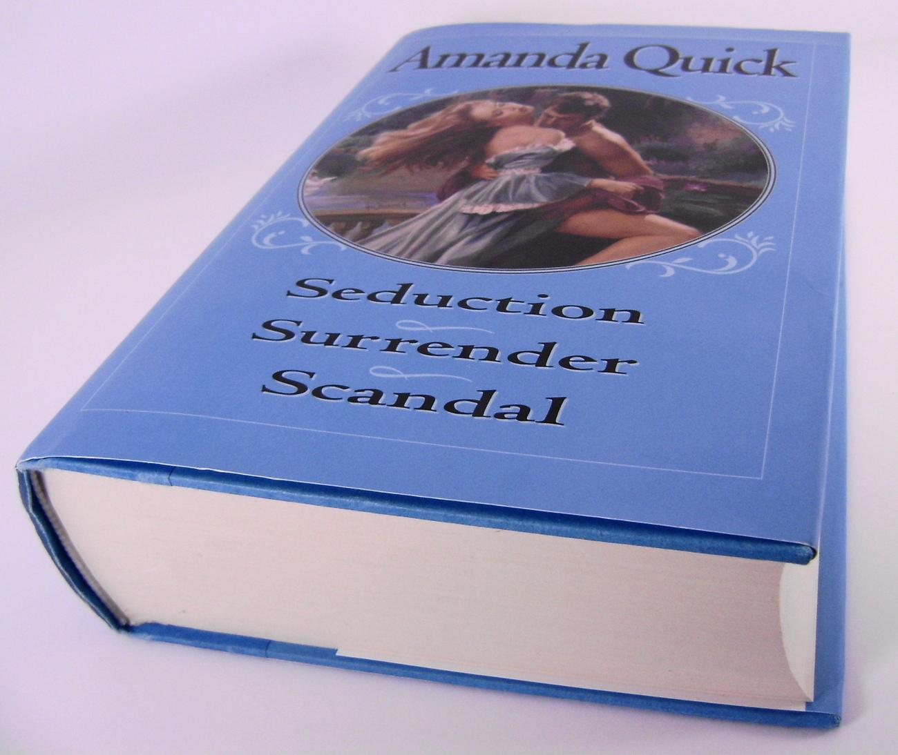 3 Books In 1 Seduction Surrender Scandal by Amanda Quick HC