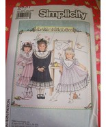 Simplicity 9637 Daisy Kingdom Girls Dress Pattern 3 - 6X - $5.99