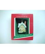 1989 Hallmark  Miniature Old English Village Sweet Shop Mini Ornament -Q... - $7.99