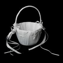 Pretty Bridal Flower Girl Basket FB 71 by Elegance by Carbonneau - $20.00