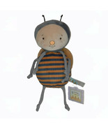 """2020 Bunnies By The Bay BumbleBee Knotted Plush Bean Bag Bee Toy 12"""" - $34.65"""