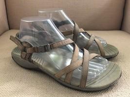 Merrell Aster Bungee Beige Sport Sandals US 10 - $27.74