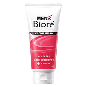 2PCS Biore Men's Acne Care Facial Wash 100g Free Shipping Personal Skin Care NEW