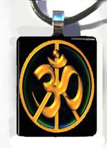 Peace Sign OM AUM ohm spiritual MANTRA HINDU Ch... - $15.95