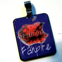 Twilight movie FANPIRE VAMPIRE STAINLESS STEEL ART PENDANT for Necklaces - $10.95