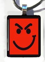BON JOVI Have A Nice Day Smirk Face Pendant for Necklaces - $15.95