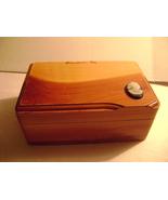 Vintage Cedar trinkek  Box from Jamestown Virginia - £7.27 GBP