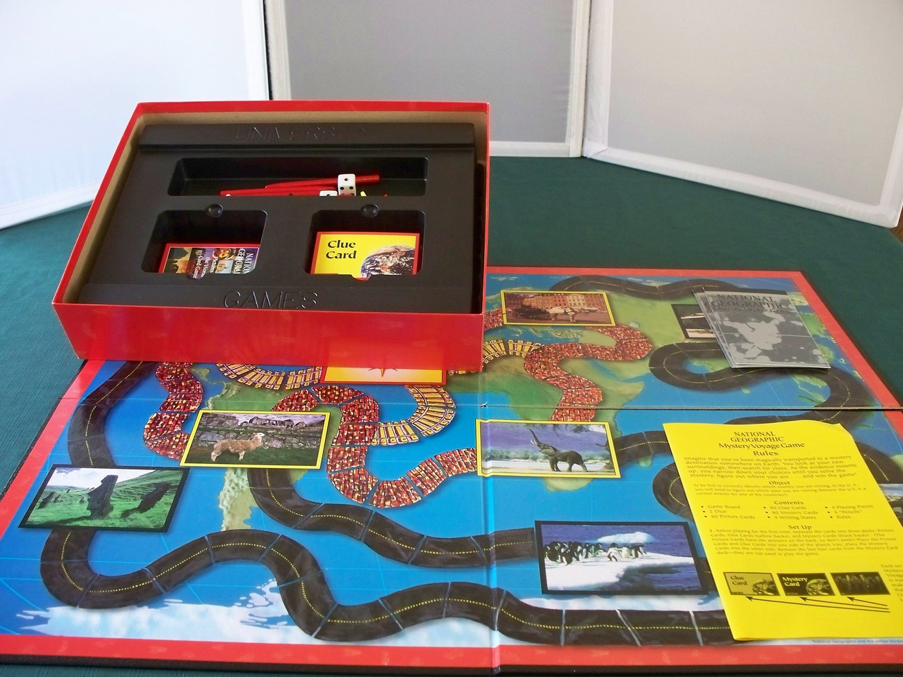 National Geographic Mystery Voyage Game Complete VGC