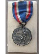 VINTAGE STERLING SILVER 1926 BOARD of EDUCATION PLAYGROUNDS STILTS MEDAL... - $49.95