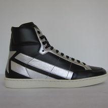 US 2229120 Hightop SAINT pelle Sneakers LAURENT 7 nero NUOVO Contrassegnato s Fq8dHgxg