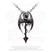 Draconkreuz Pendant by Alchemy Gothic - $44.50