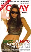 CINCO DE MAYO Parties at TODAY in Las Vegas Magazine April - - $5.95