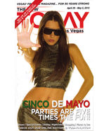 CINCO DE MAYO Parties at TODAY in Las Vegas Magazine April - - $5.95