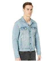 Levi's Men's Classic Button Up Denim Jeans Trucker Jacket Blue Stretch 723340323 image 4