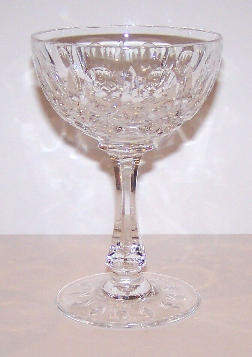 "Primary image for LOVELY JOSAIR CRYSTAL MONTE CLAIRE 5 1/2"" CHAMPAGNE/TALL SHERBET STEM"