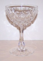 "LOVELY JOSAIR CRYSTAL MONTE CLAIRE 5 1/2"" CHAMPAGNE/TALL SHERBET STEM - $15.14"