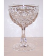"""LOVELY JOSAIR CRYSTAL MONTE CLAIRE 5 1/2"""" CHAMPAGNE/TALL SHERBET STEM - $15.14"""