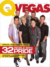 32 People with Pride, Special Anniversary Issue QVEGAS 2010 - $1.95