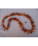 Necklace  Amber  31 in  New - $75.00