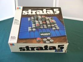 Strata 5 3-D Strategy Game Milton Bradley 1984 Complete VGC - $12.00