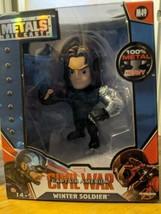 Marvel Captain America: Civil War Winter Soldier Metals Die Cast M49 4 i... - $15.83