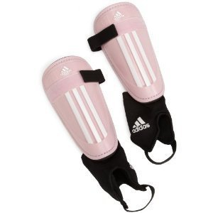 Primary image for Adidas Shinguards Large Girl Women Pink Protection Gear New