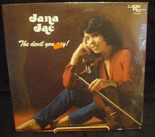 Jana Jae - The Devil You Say! - Lark Records LRS-801 - SEALED