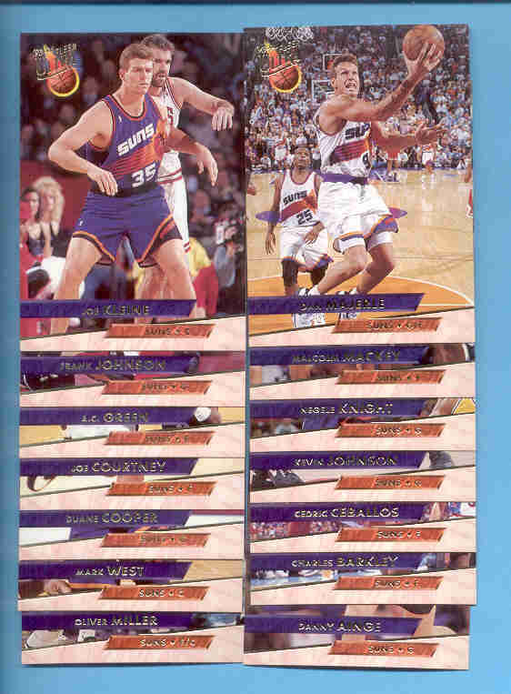 1993/94 Fleer Ultra Phoenix Suns Basketball Team Set