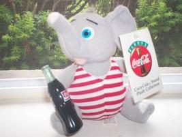 *~$10 SALE! Coca Cola Plush Collection-Elephant (1993) - $10.00