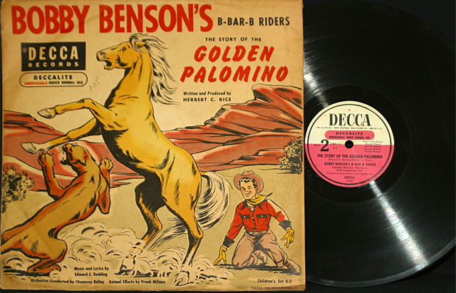 "Bobby Benson's B-Bar-B Riders ""Golden Palomino""  78 rpm"