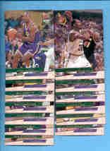 1993/94 Fleer Ultra Utah Jazz Basketball Team Set  - $2.50