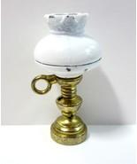 Vintage Mini Dollhouse Hurricane Desk End Table Lamp by Darice Timeless ... - $3.99
