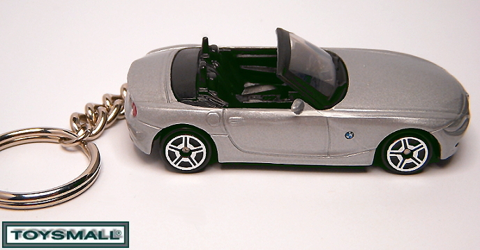 KEY CHAIN 05/2006/007/2009/2010 SILVER GRAY BMW Z4 PORTE CLE