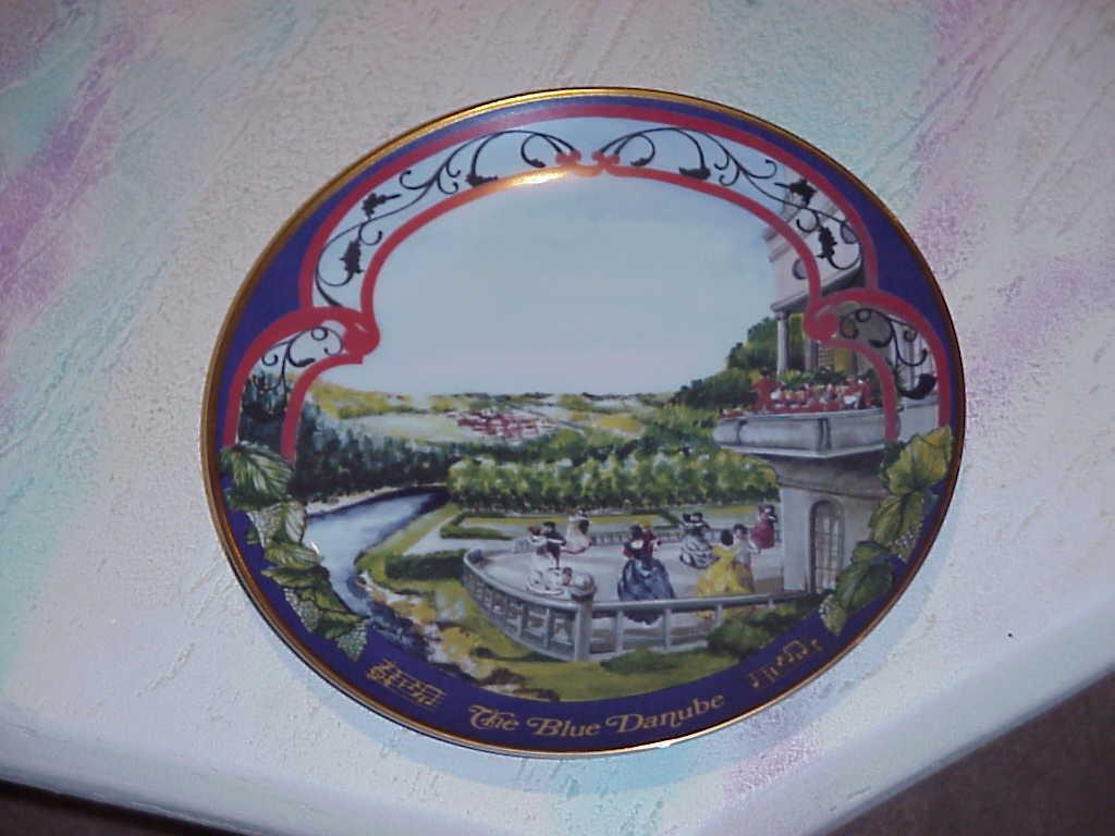 Copy of plate   wal blue danube  sa5