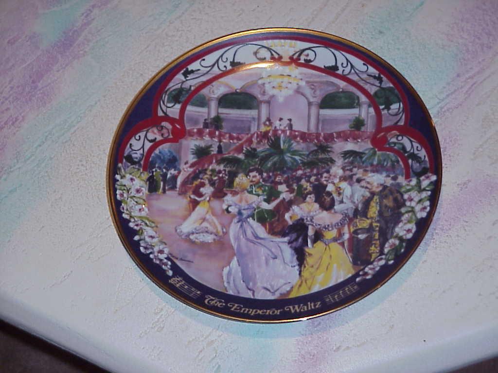 The Waltzes of Johann Strauss , Collector Plates (8),1981/1982