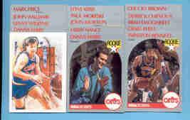 1990/91 Hoops Cleveland Cavaliers Basketball Team Set  - $2.50