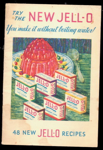 1932 New Jello Recipe Book