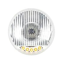 """United Pacific 5 3/4"""" Crystal Halogen Headlight With 5 LED Position Lights - $59.35"""