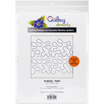 Quilting Creations Printed Tear Away Quilting Paper 4/Pkg-Scribbles-Peti... - $14.38