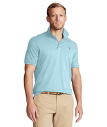 Polo Ralph Lauren Men's Classic Fit Soft Cotton Blue Polo T-shirt Size Medium - $59.39